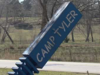 Camp Tyler Sign