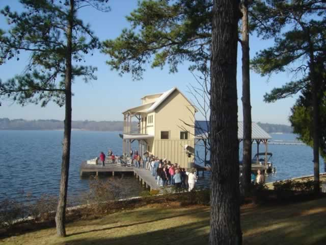 HGTV Dream Home dockhouse in Tyler Texas on Lake Tyler